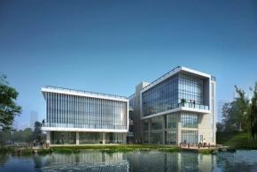 3921㎡企业总部独栋办公楼,六高速环绕五轨交汇