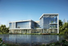 3919㎡企业总部独栋办公楼,六高速环绕五轨交汇