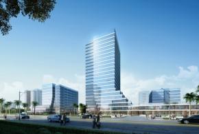 19205㎡高层研发办公楼,六高速环绕五轨交汇