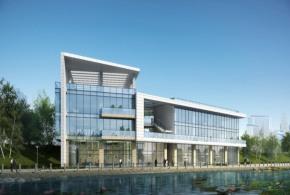 3623㎡企业总部独栋办公楼,六高速环绕五轨交汇