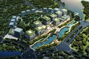 中新知识城多功能科技园区,院士工作站,交通便利