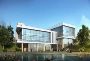 4452㎡企业总部独栋办公楼,六高速环绕五轨交汇