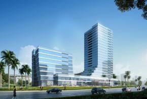 76367㎡高层研发办公楼,六高速环绕五轨交汇