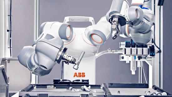 工业机器人生产研发项目